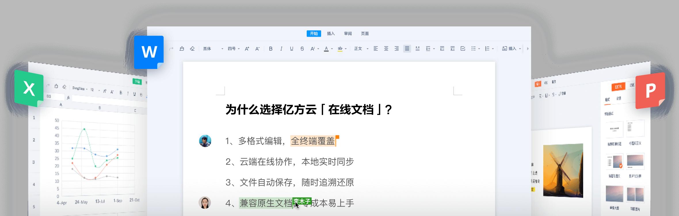 5、亿方云企业网盘:在线编辑